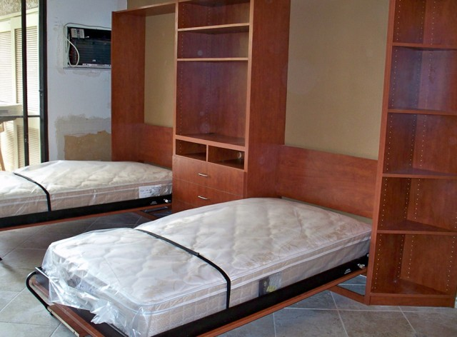 Twin Bed In Closet
