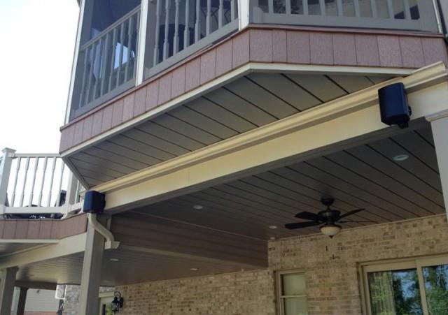 Under Deck Ceiling Installation