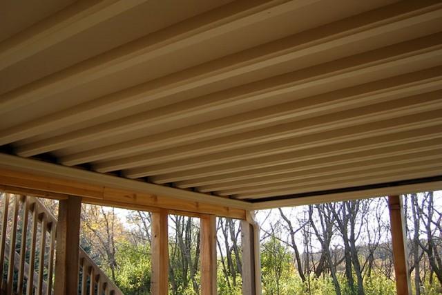 Under Deck Gutter System Diy