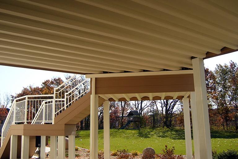 Under Deck Roof System Home Design Ideas