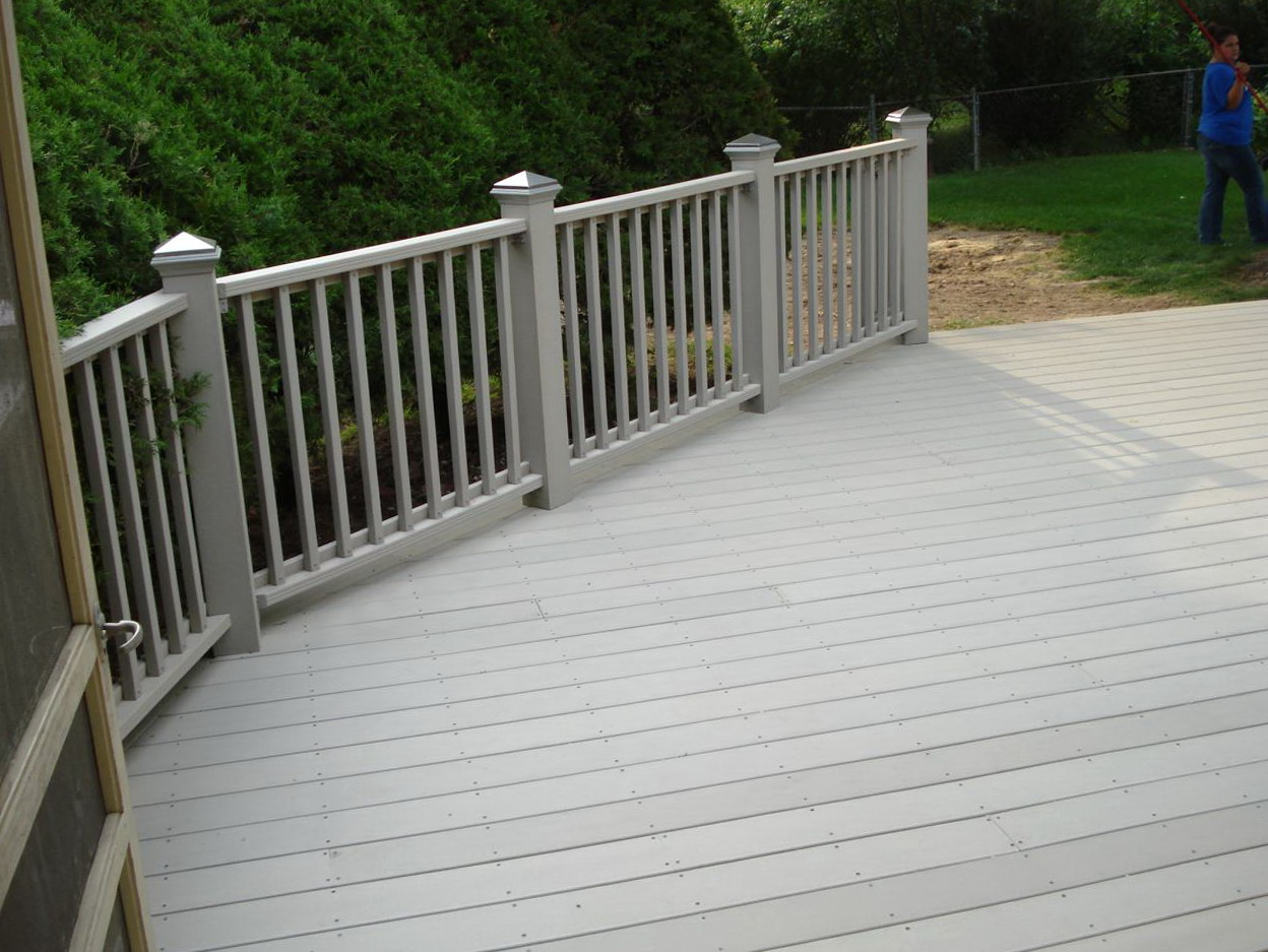 veranda composite decking installation home design ideas
