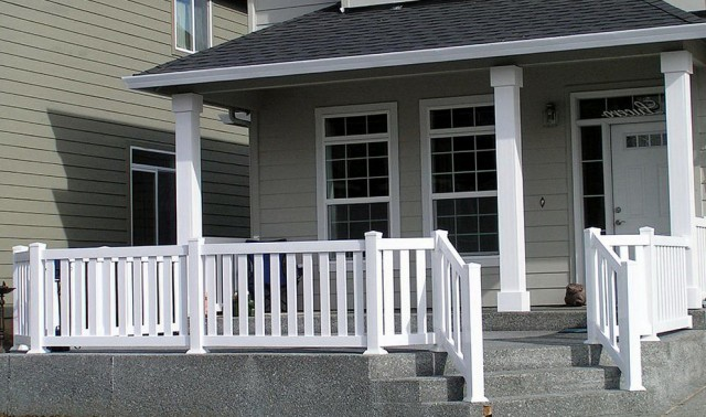 Under deck ceiling systems lowes home design ideas - Vinyl deck railing lowes ...
