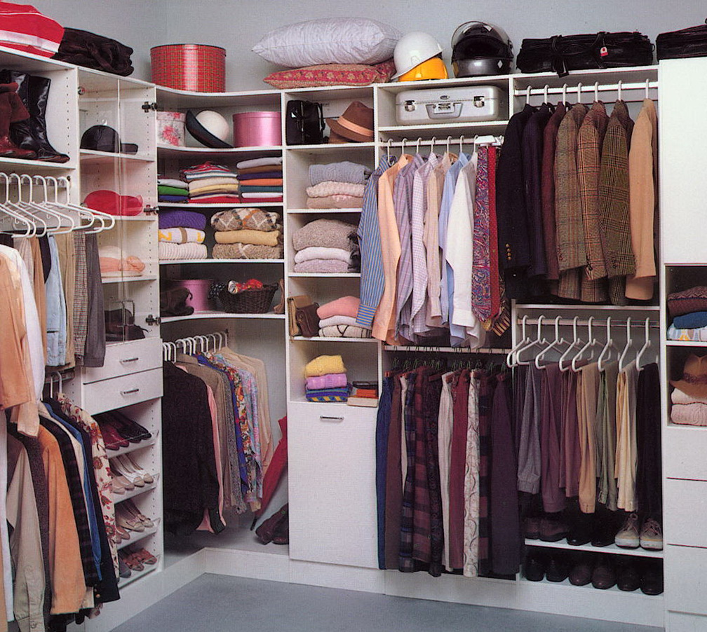 Walk In Closet Organizer Ideas
