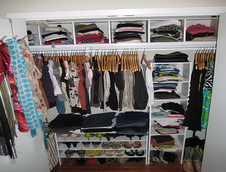Ways To Organize Small Closet Home Design Ideas
