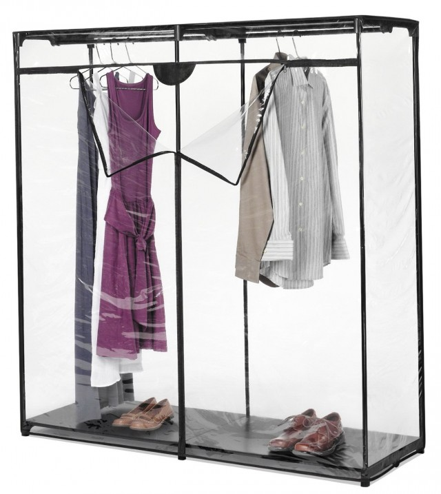 Whitmor Extra Wide Portable Clothes Closet