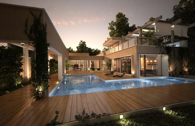 Wooden Deck Lighting Ideas