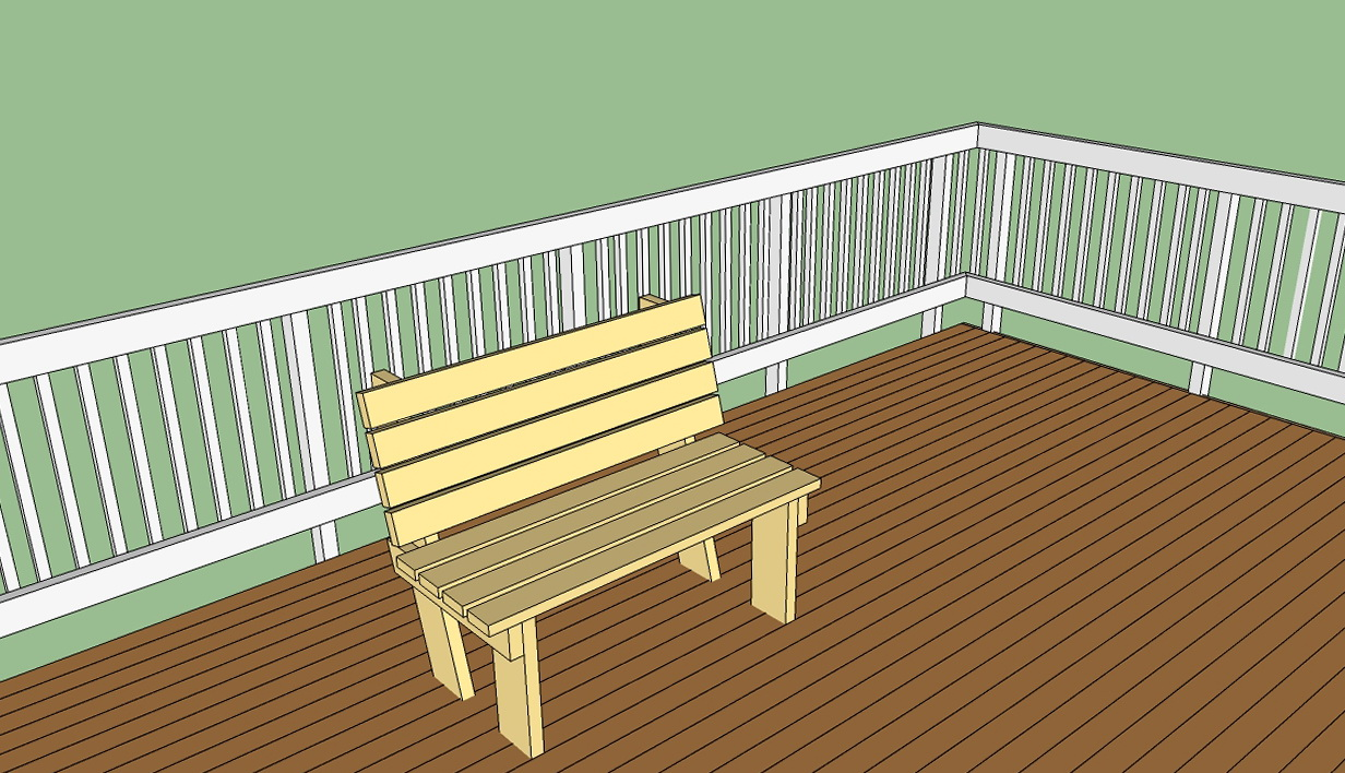 Wooden deck plans free home design ideas Wood deck designs free