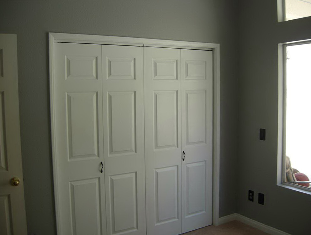 Sliding 6 Panel Closet Doors Shop Reliabilt White 6