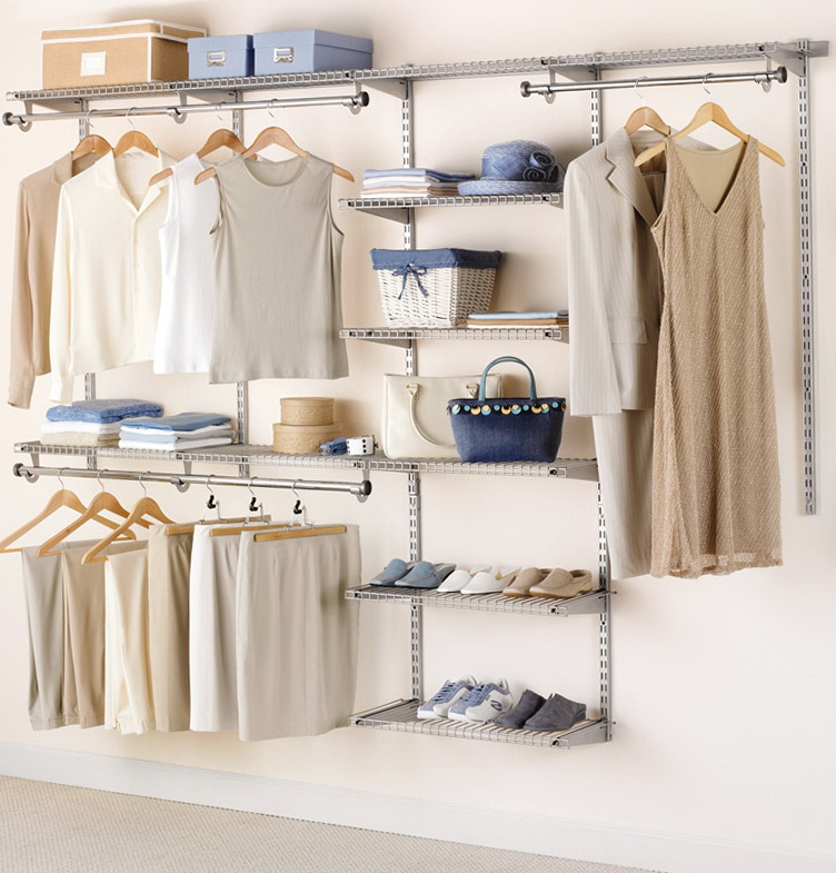 Adjustable Clothes Rod For Closet