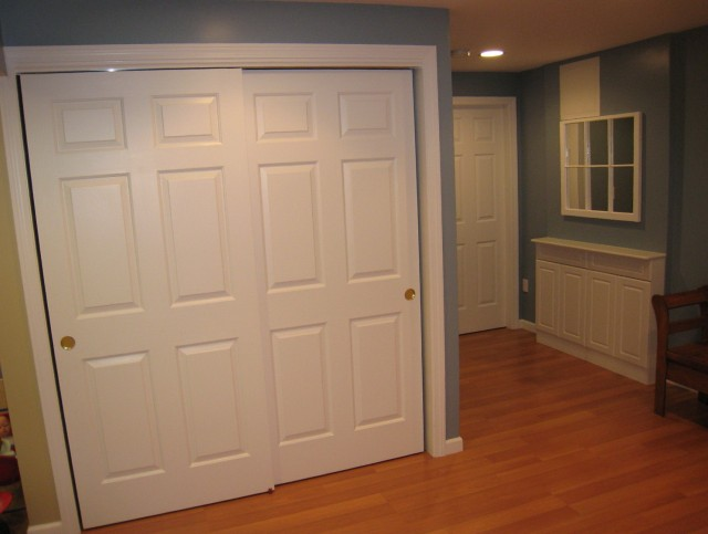 All Wood Closet Doors