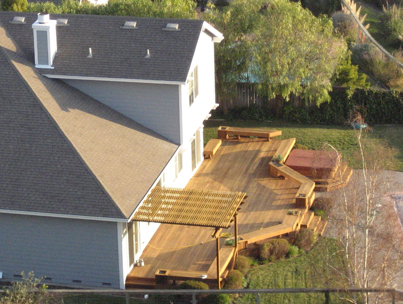 Backyard Deck Patio Ideas