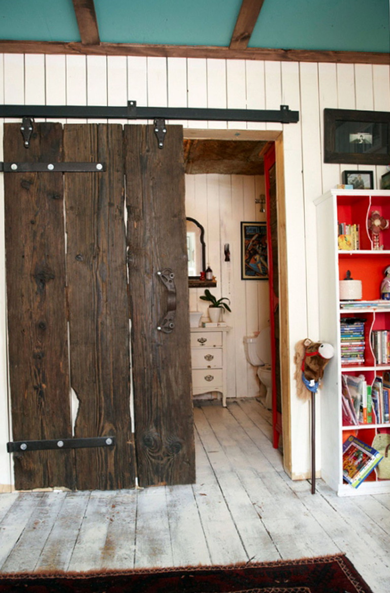 Barn Wood Closet Doors Home Design Ideas
