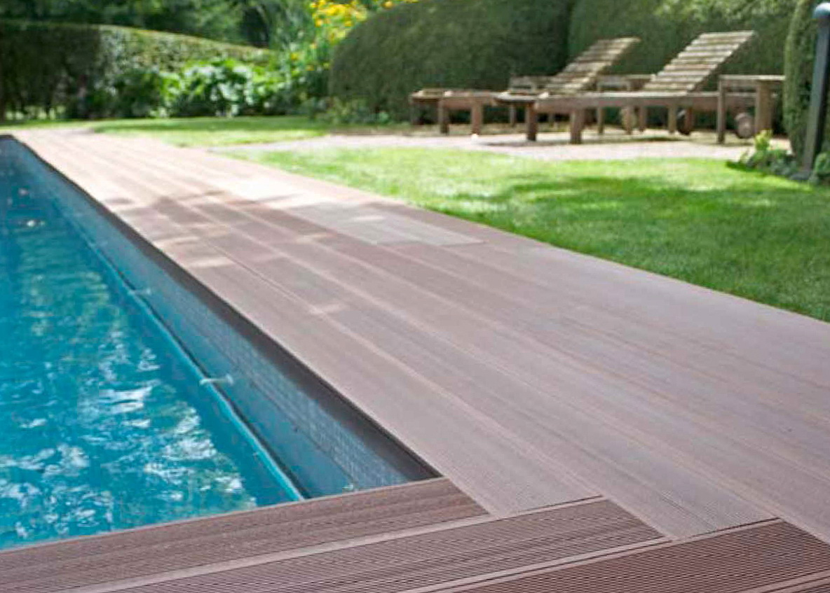 Best non wood decking material for pools home design ideas for Timber decking materials