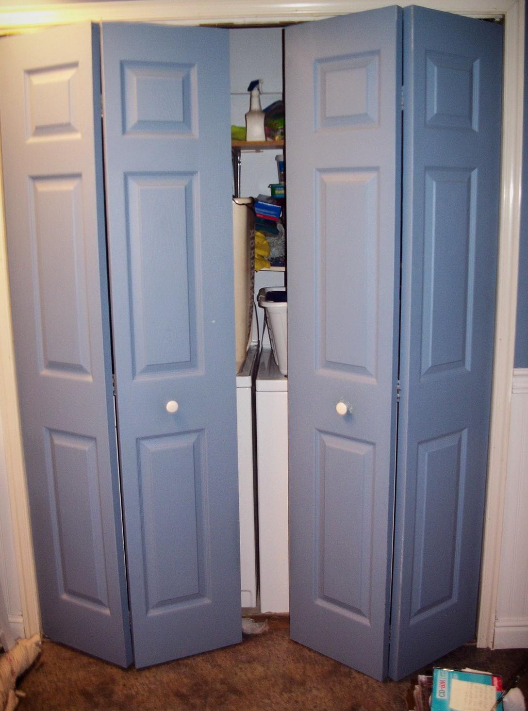 Bifold Wood Closet Doors Home Design Ideas