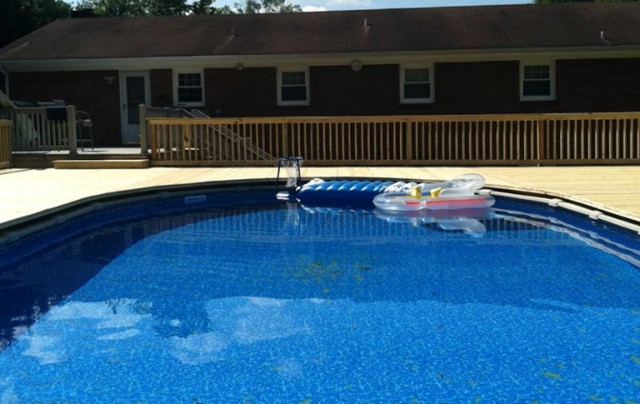 Building A Pool Deck For Above Ground Pools