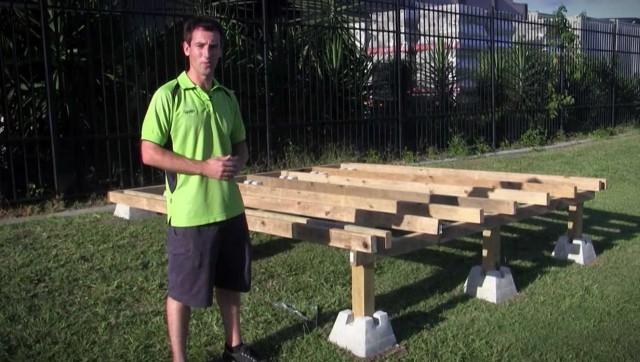 Building A Pool Deck With Dek Blocks