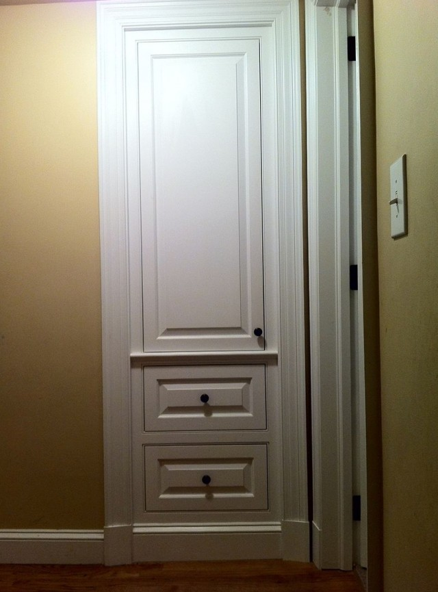 Built In Coat Closet Ideas