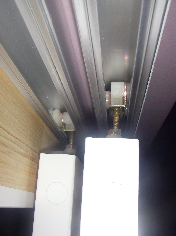 Bypass Closet Door Rollers Home Design Ideas