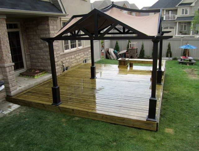 Canopies For Decks Outdoors