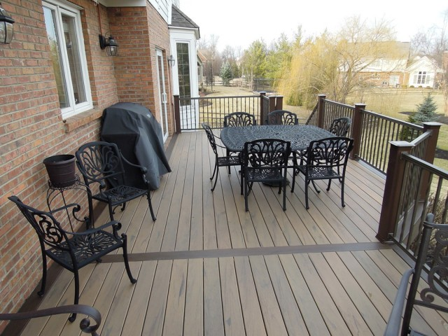 Capped Composite Decking Home Depot