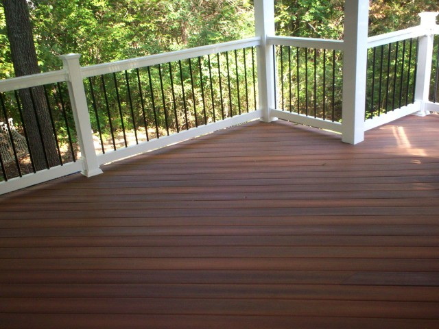 Capped composite decking home depot home design ideas for Capped composite decking