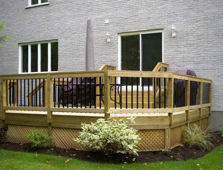 Composite Deck Material Cost Home Design Ideas