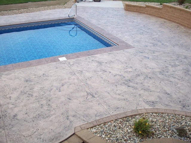 Concrete Deck Around Pool