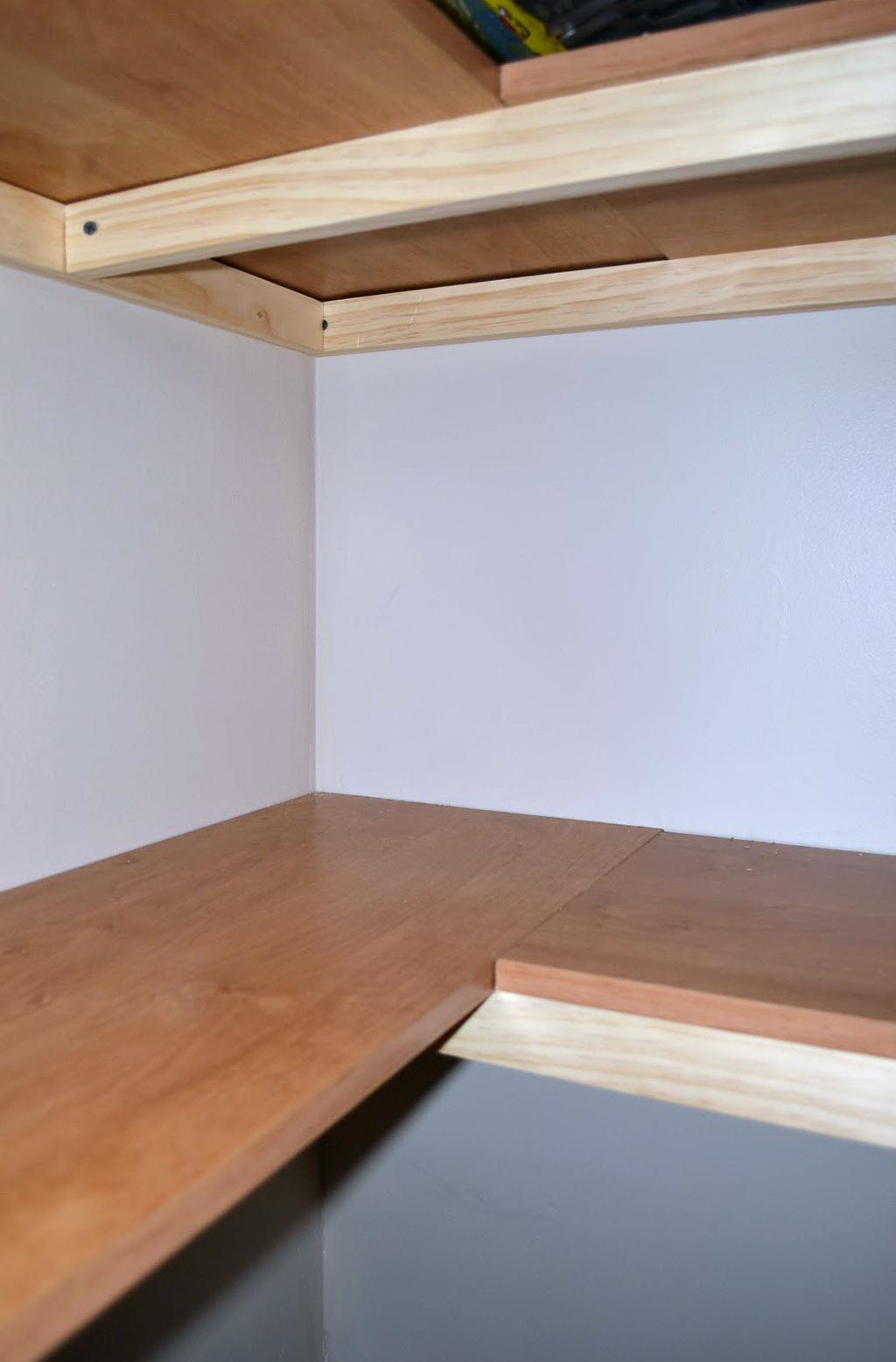 Corner Shelves For Closets