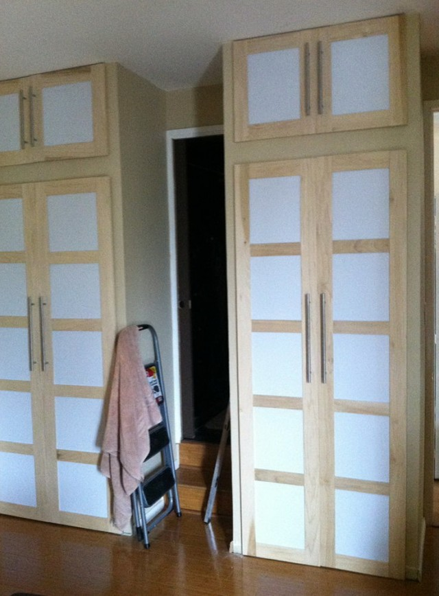 Creative Closet Door Alternatives