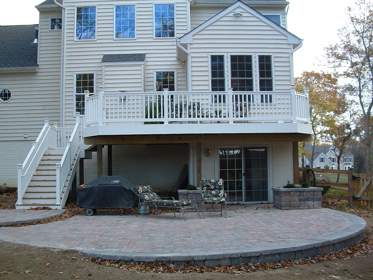 Deck And Patio Combo Designs