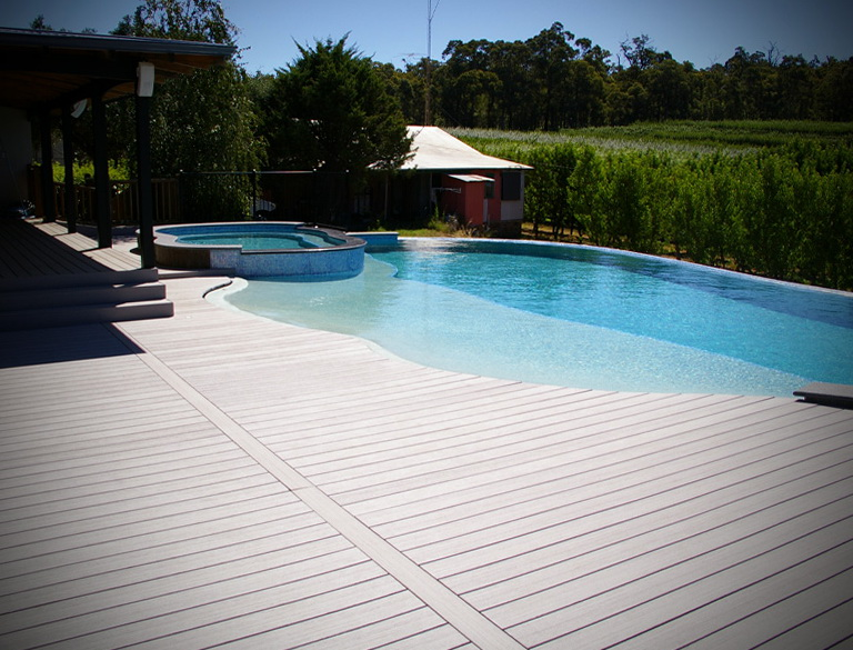 Deck Around Pool Ideas