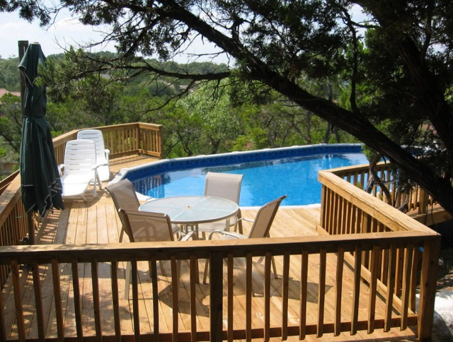 Deck Around Pools Pictures