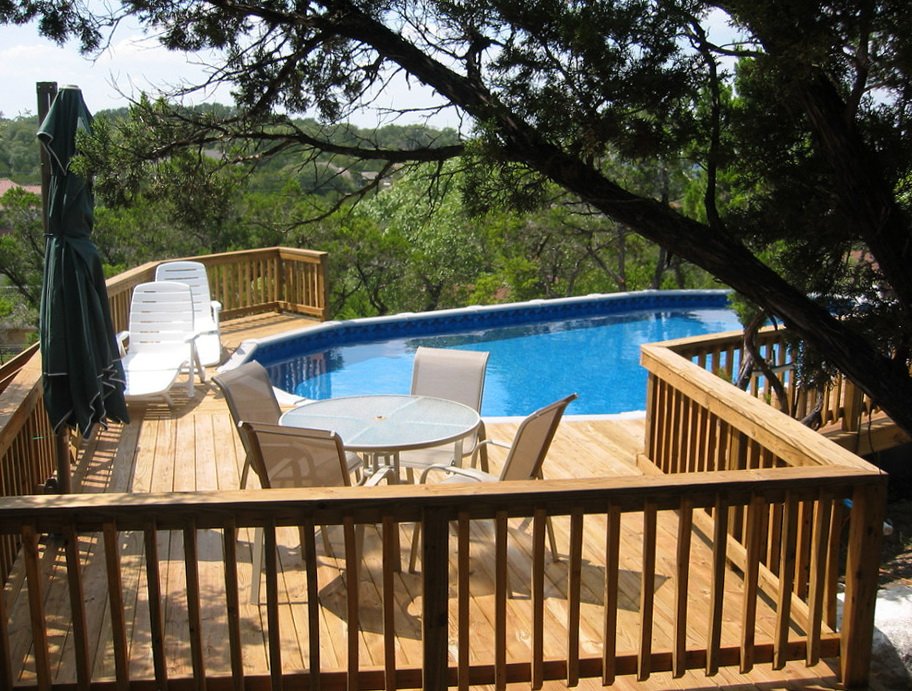 Deck Around Pools Pictures