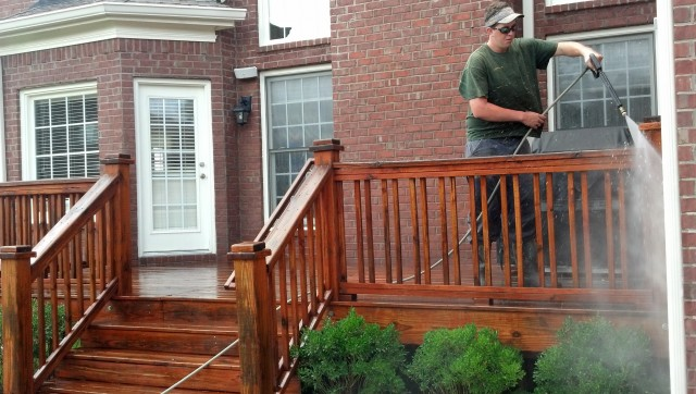 Deck Cleaning And Staining Chicago