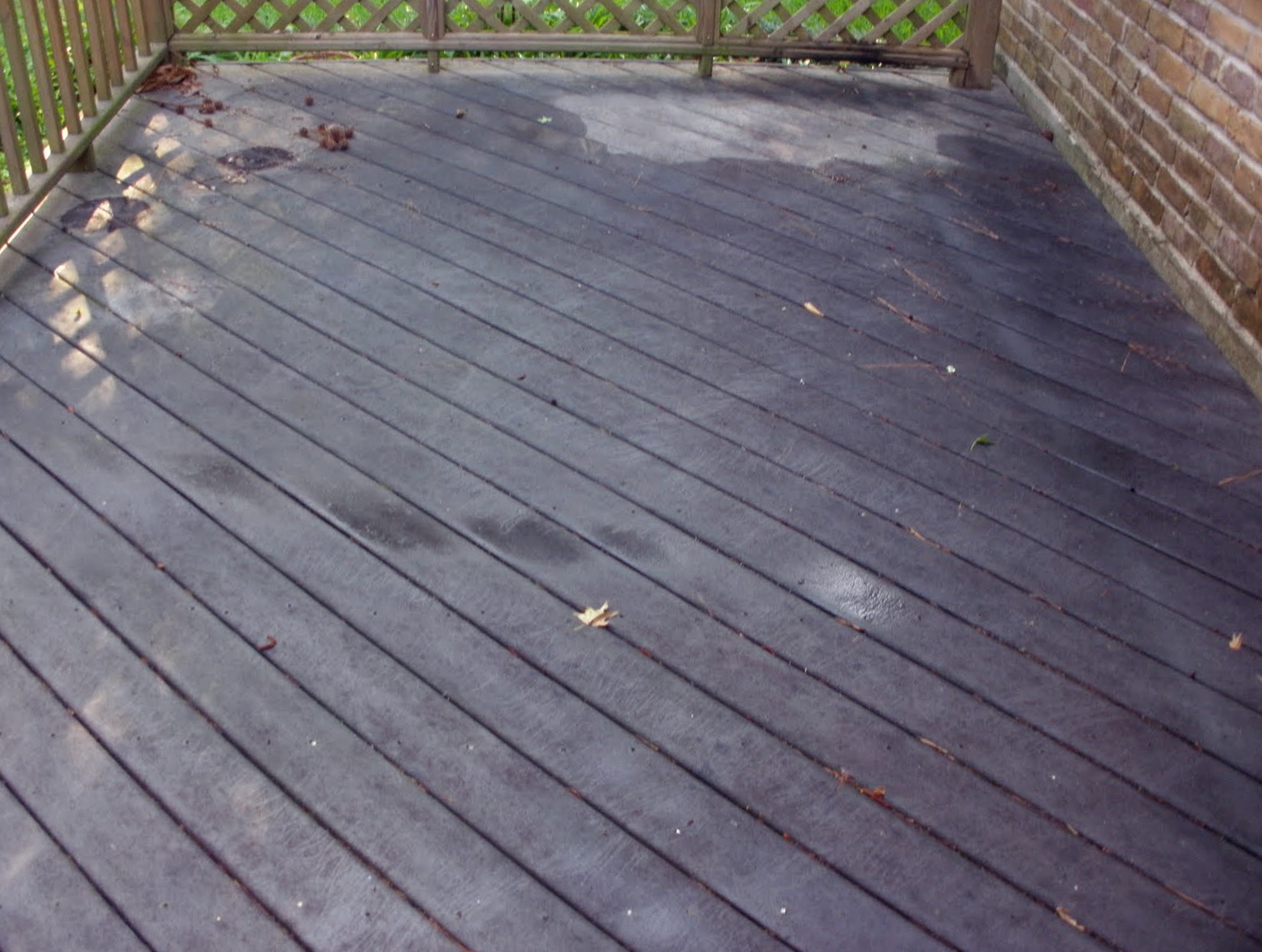 Deck cleaning solutions homemade home design ideas for Patio cleaning solution
