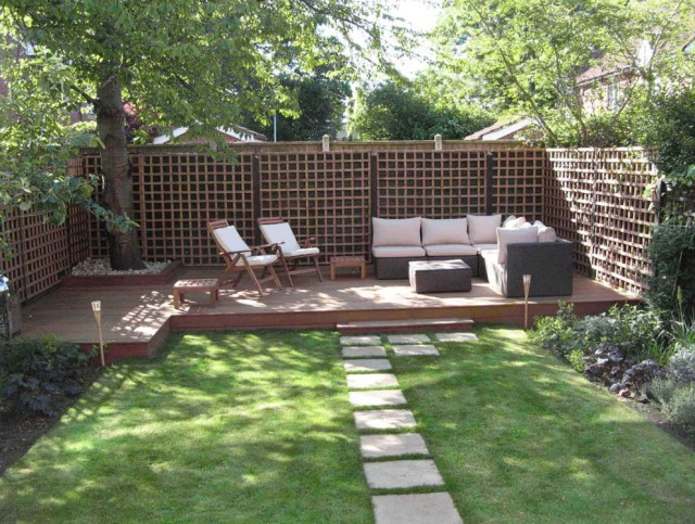 Deck Patio Ideas Small Backyards