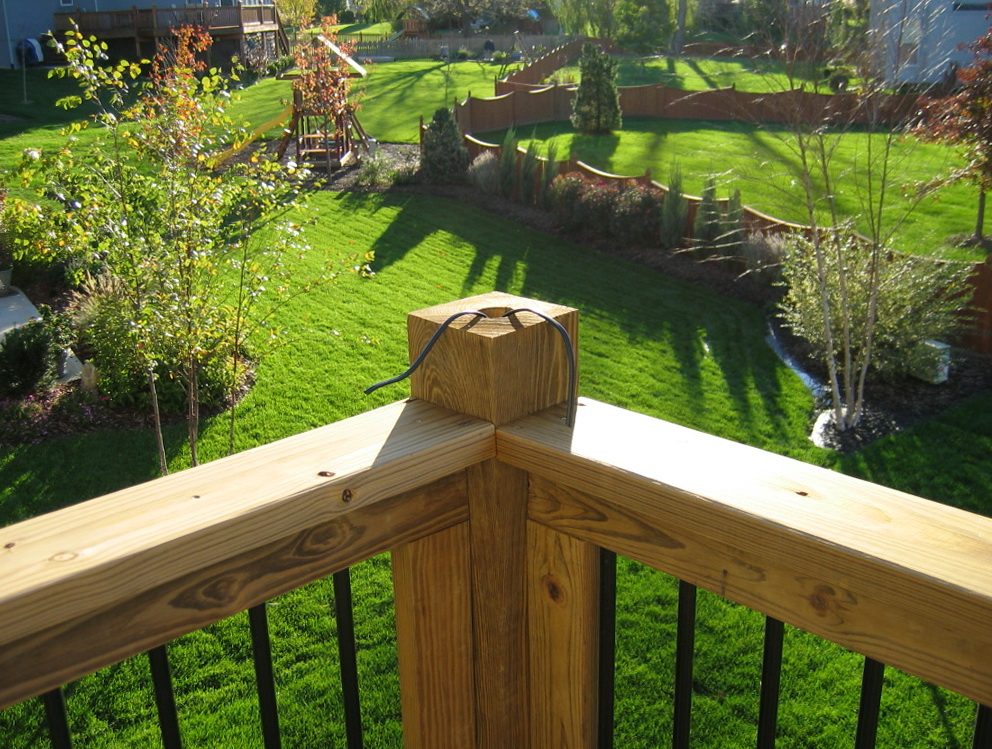 deck post lighting home depot home design ideas