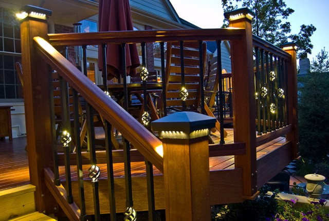 Deck Post Lighting Ideas