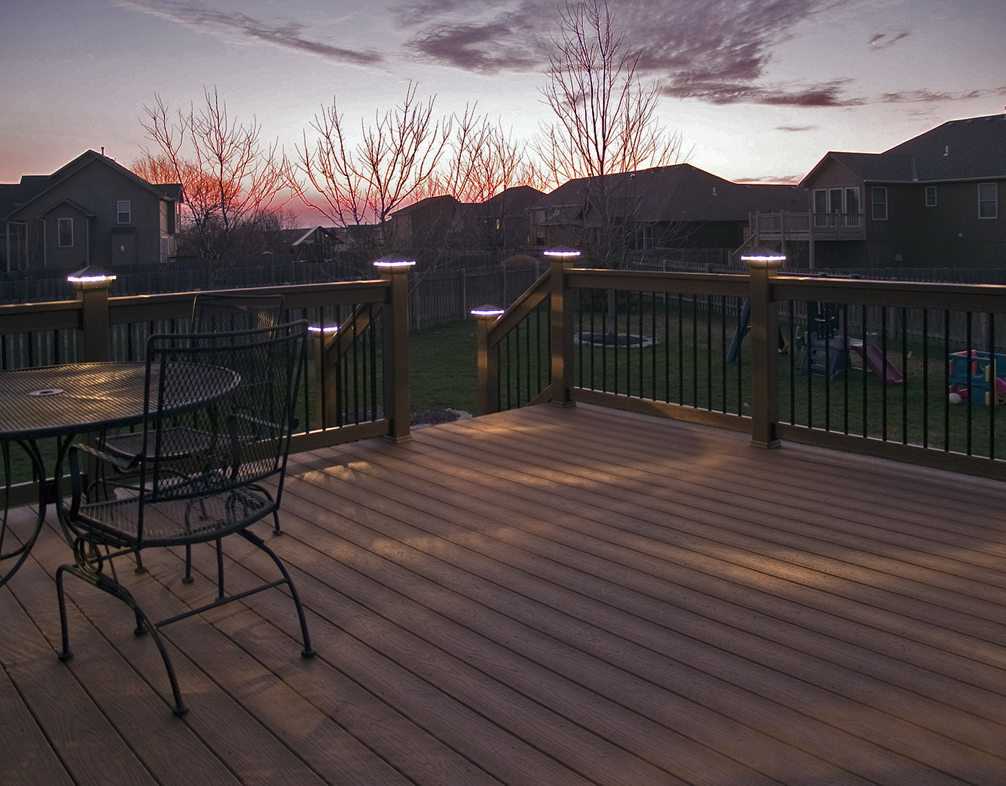 deck post lighting kits home design ideas