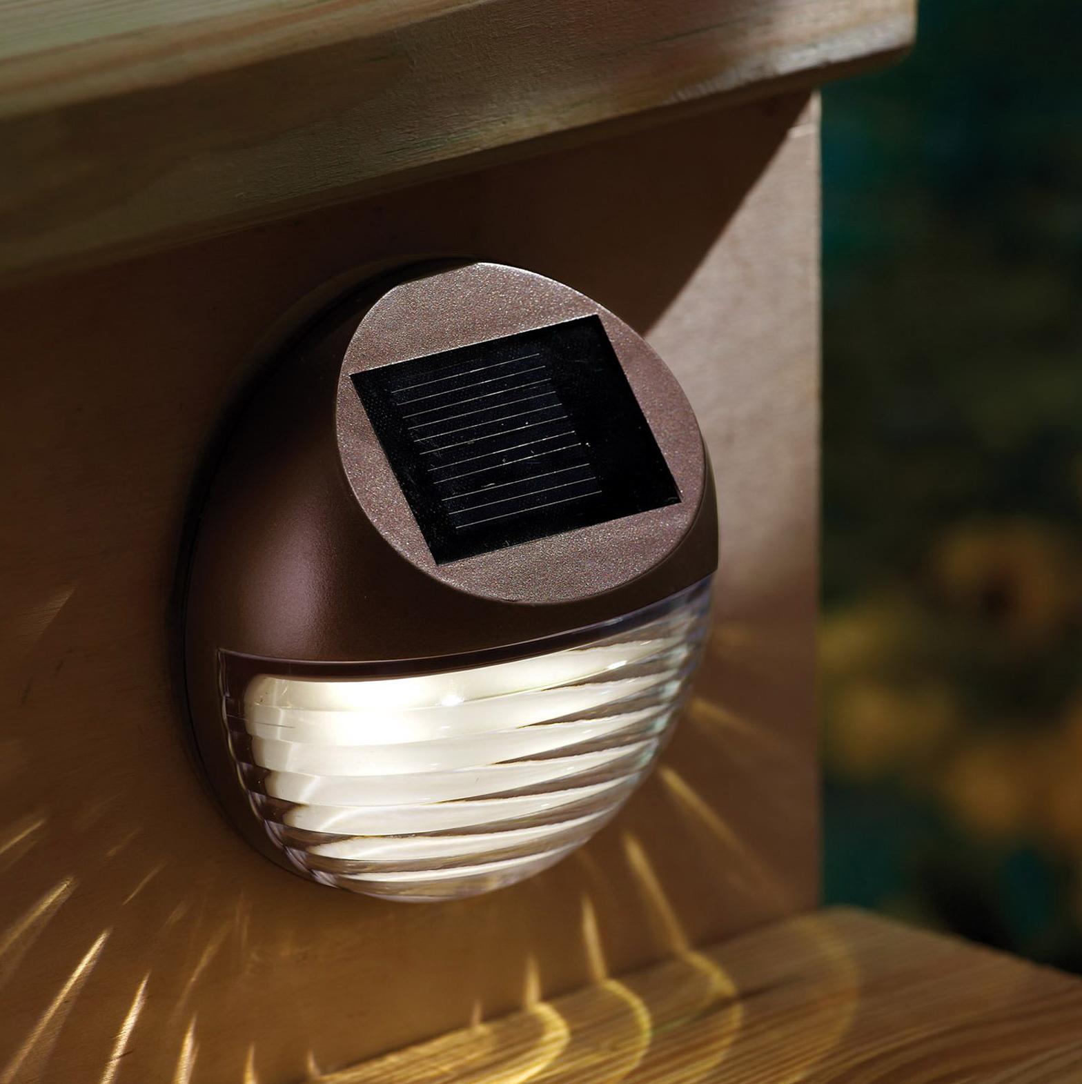 Deck Post Lighting Solar