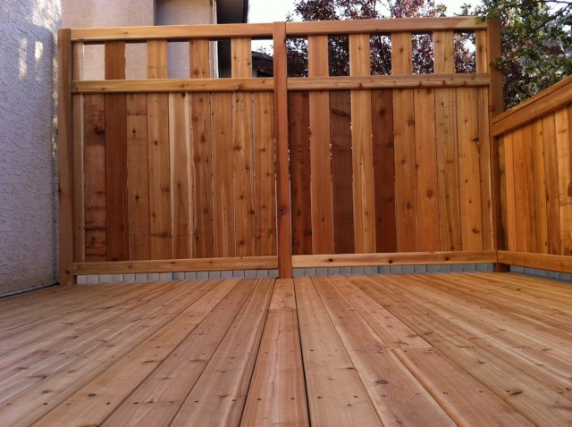 Deck Rail Ideas Privacy
