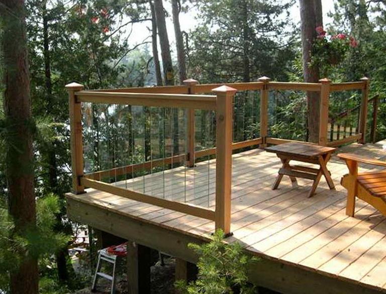 Deck Railing Brackets For Posts Home Design Ideas