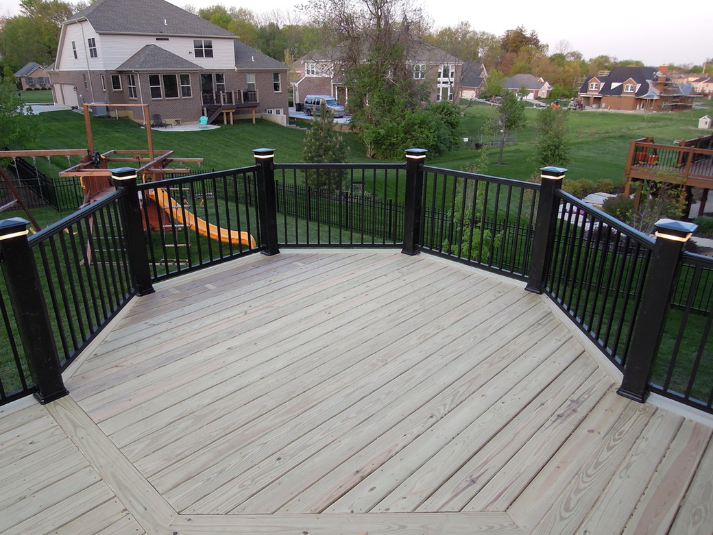 Deck Railing Brackets For Treated Lumber Home Design Ideas