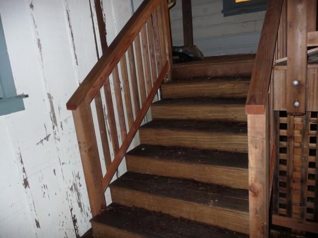 Deck Stair Railing Code Home Design Ideas