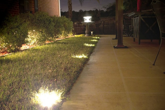 Deck Railing Light Solar