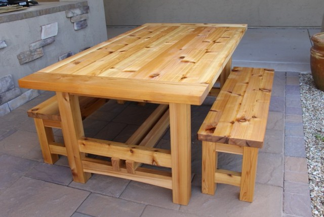Deck Table And Chairs Plans