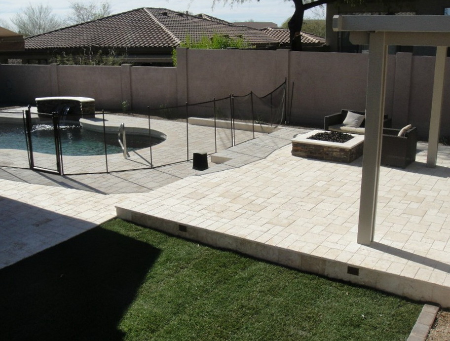 Superb Deck Tiles Over Concrete Patio