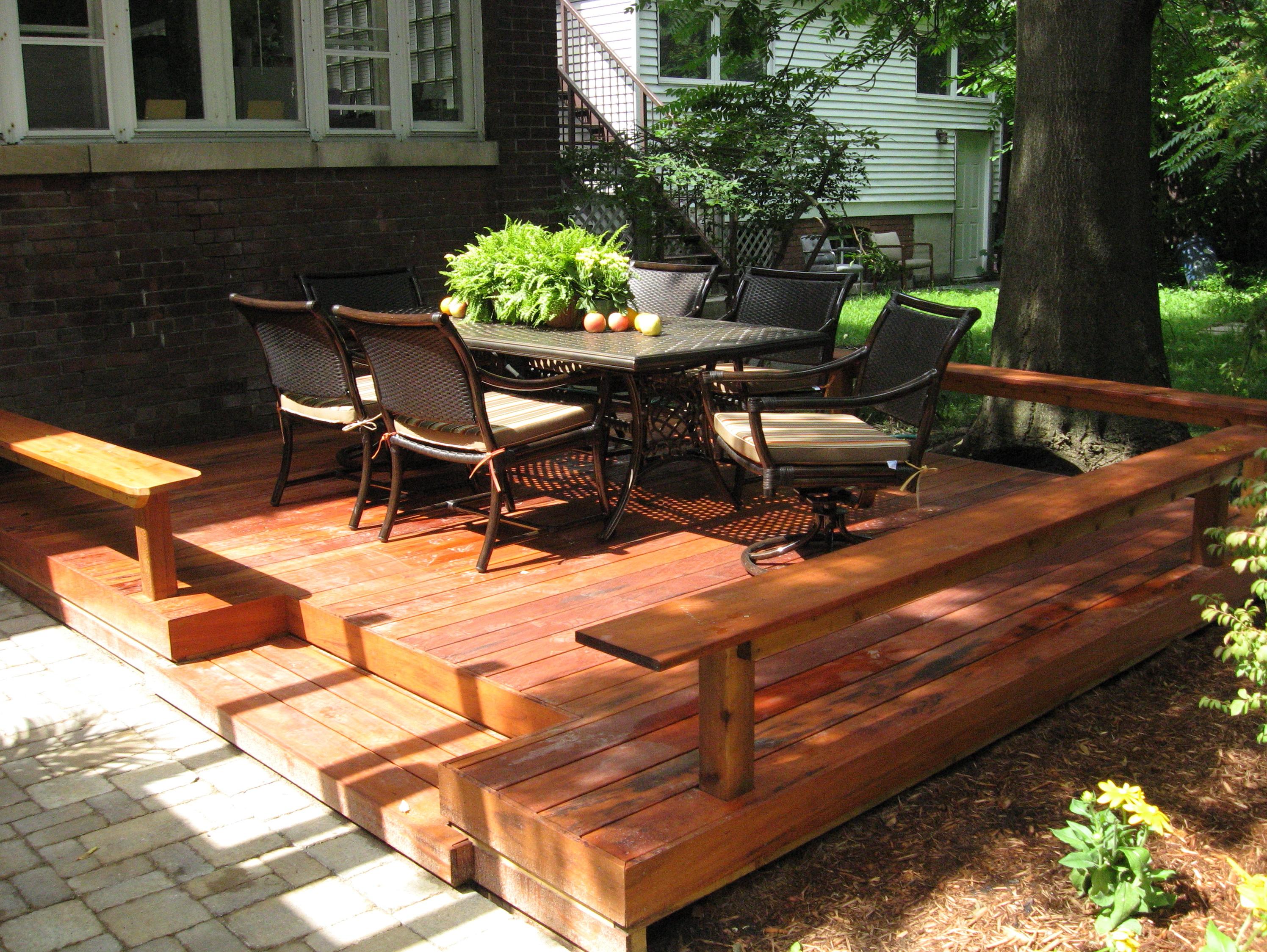 Deck Vs Patio Home Value