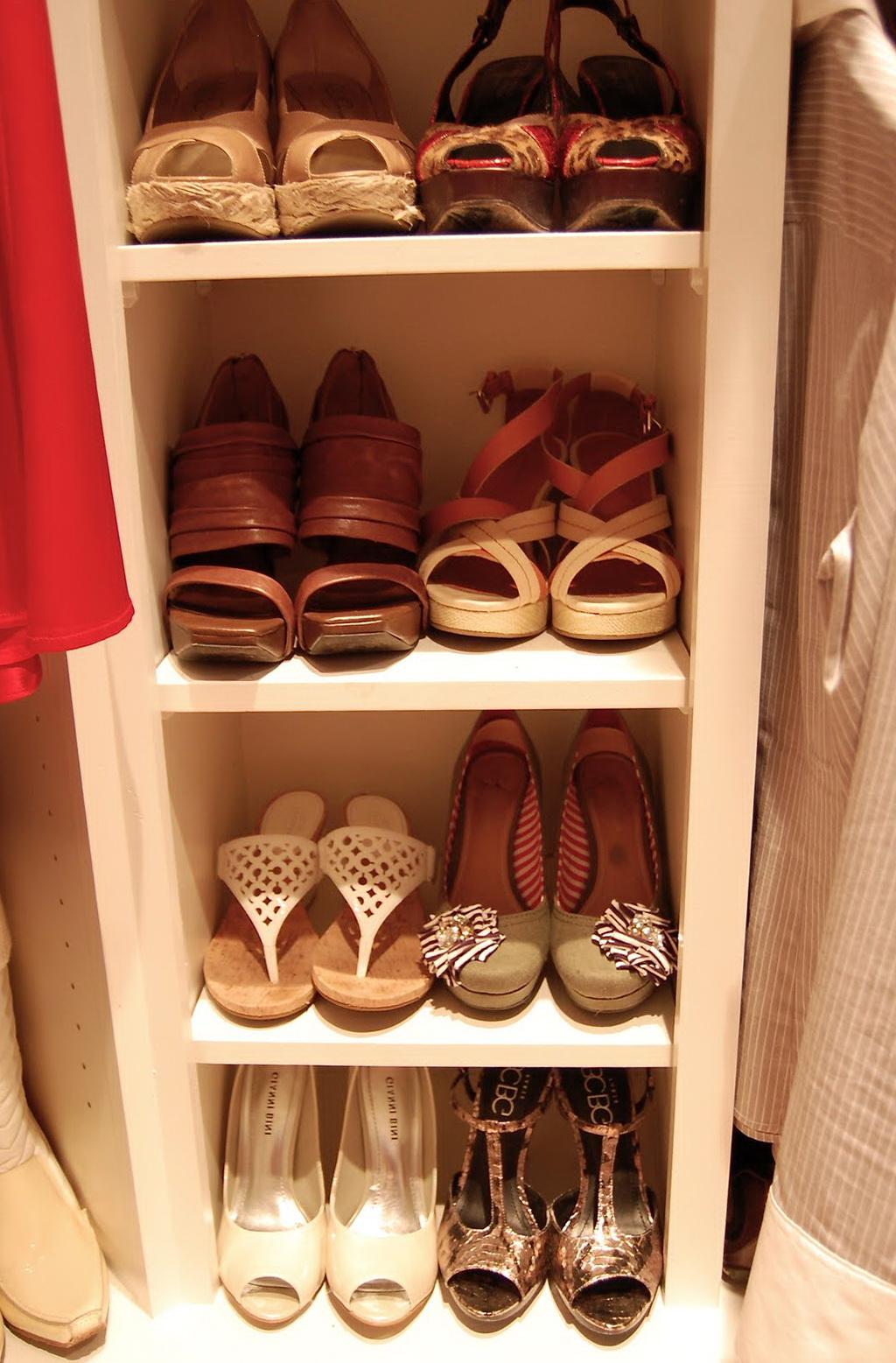 Diy Shoe Organizers For Closets Home Design Ideas