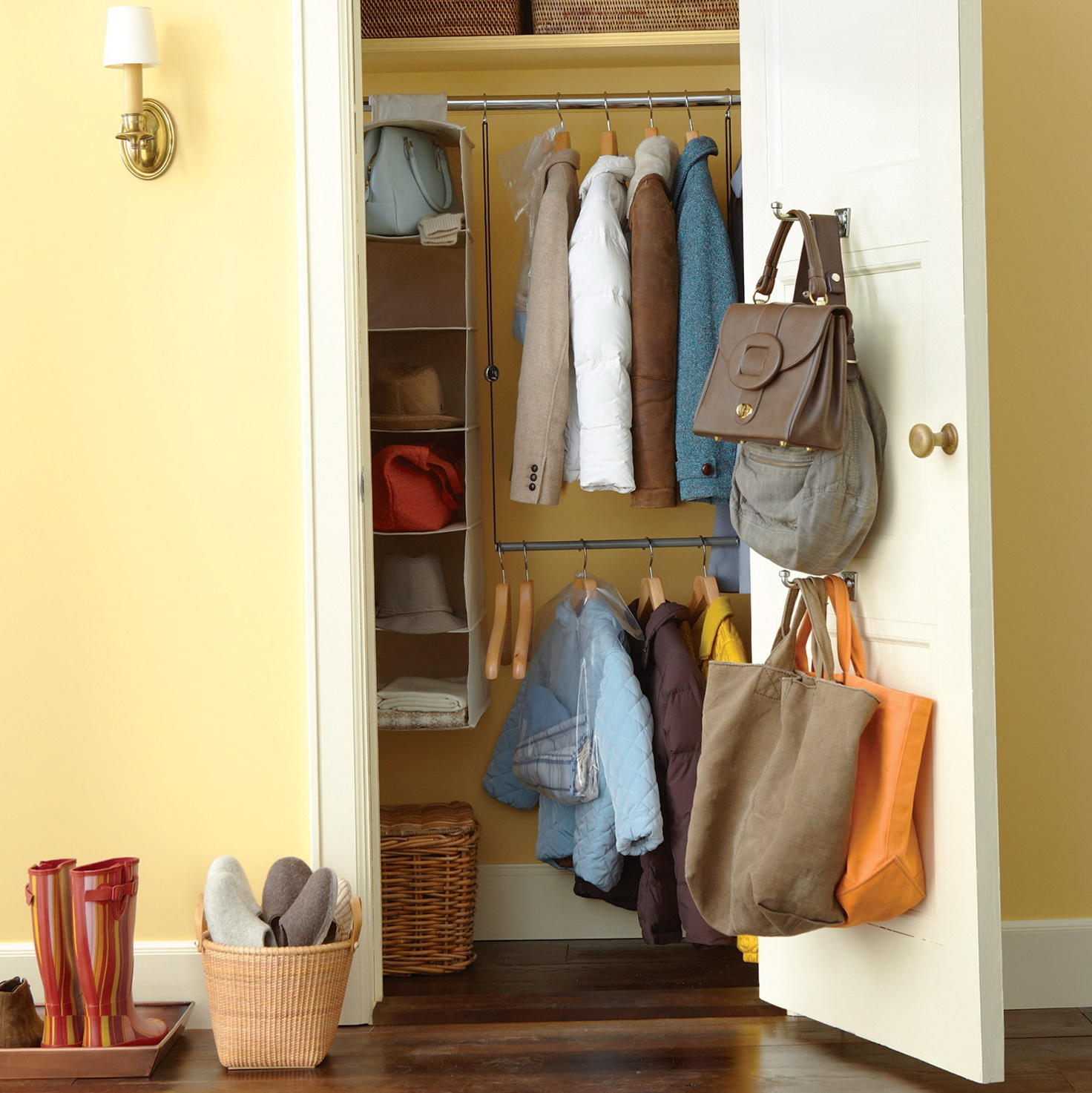 Entrance Coat Closet Ideas